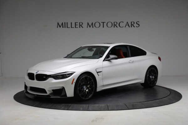 Used 2019 BMW M4 Competition for sale Call for price at Pagani of Greenwich in Greenwich CT 06830 1