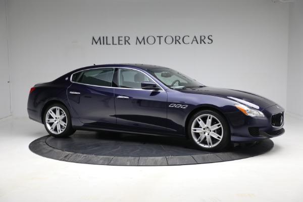 Used 2014 Maserati Quattroporte S Q4 for sale $42,900 at Pagani of Greenwich in Greenwich CT 06830 12
