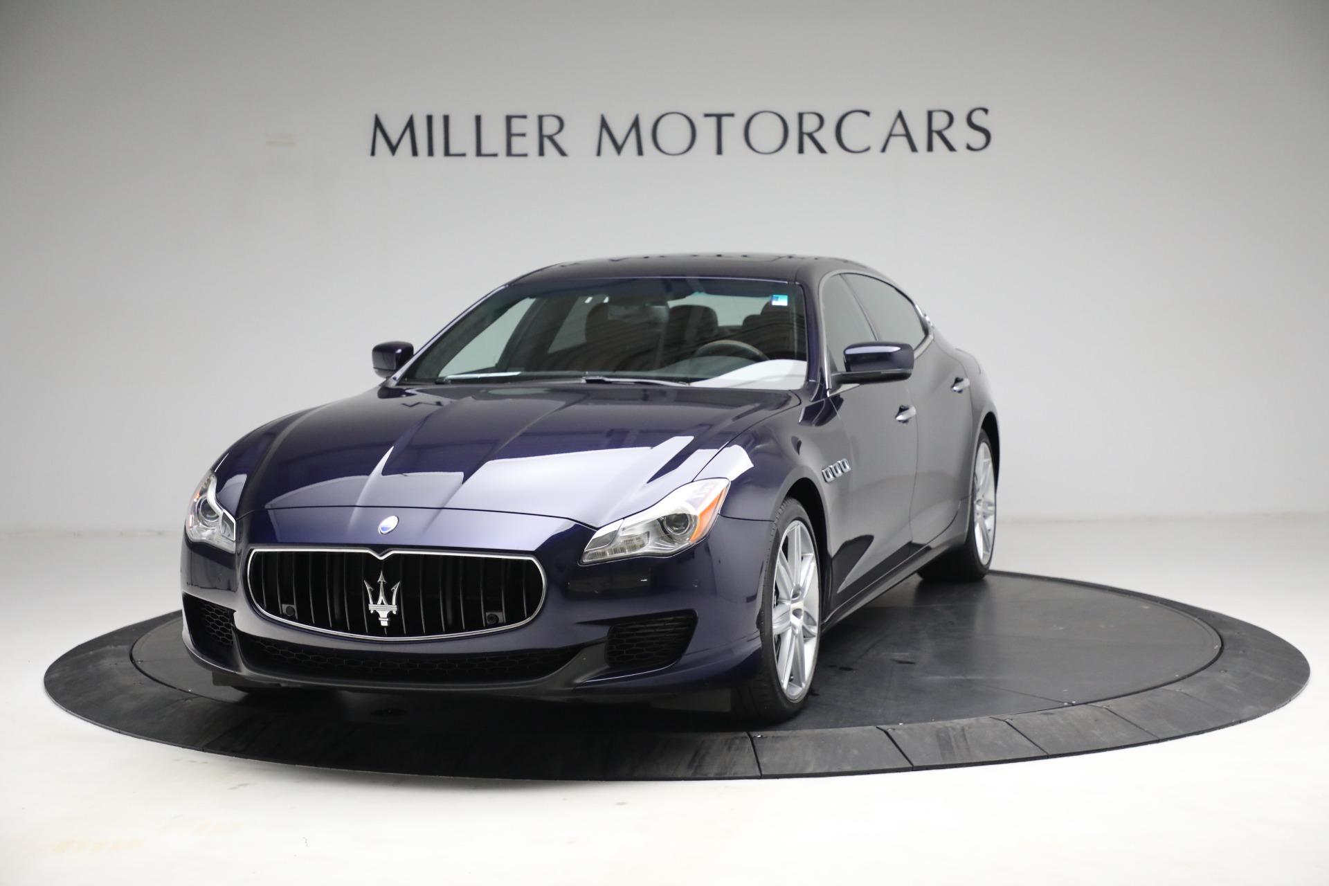 Used 2014 Maserati Quattroporte S Q4 for sale $42,900 at Pagani of Greenwich in Greenwich CT 06830 1