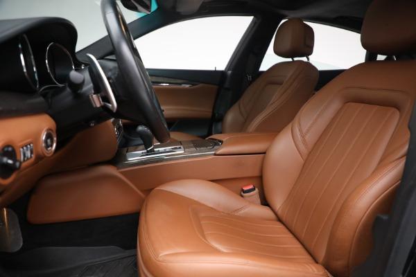 Used 2016 Maserati Quattroporte S Q4 for sale $46,900 at Pagani of Greenwich in Greenwich CT 06830 14