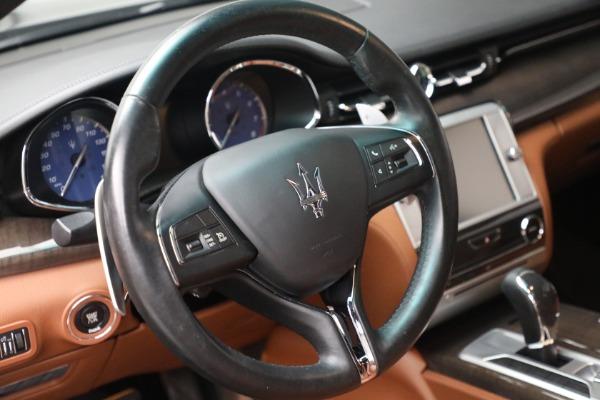 Used 2016 Maserati Quattroporte S Q4 for sale $46,900 at Pagani of Greenwich in Greenwich CT 06830 17