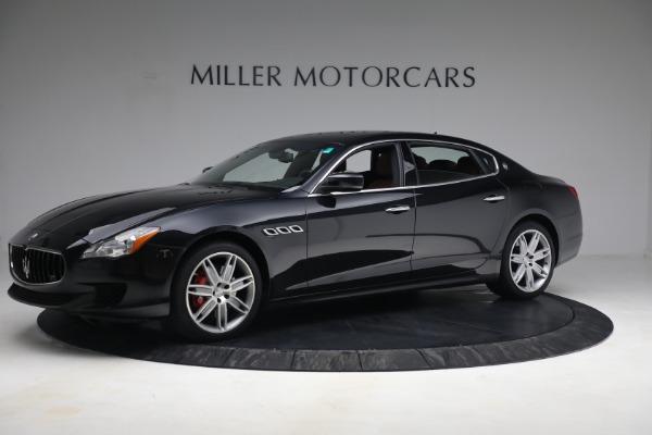 Used 2016 Maserati Quattroporte S Q4 for sale $46,900 at Pagani of Greenwich in Greenwich CT 06830 2