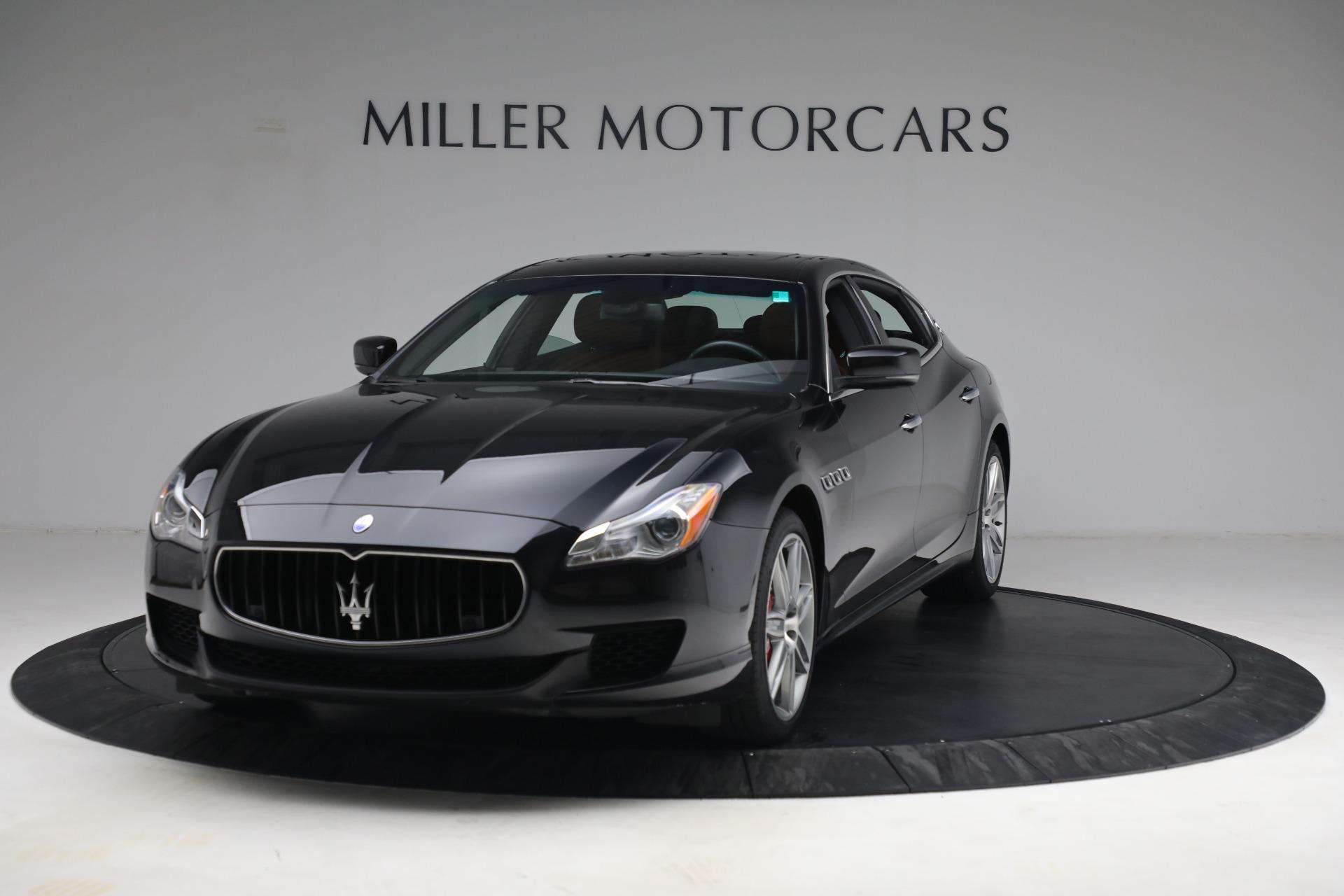 Used 2016 Maserati Quattroporte S Q4 for sale $46,900 at Pagani of Greenwich in Greenwich CT 06830 1