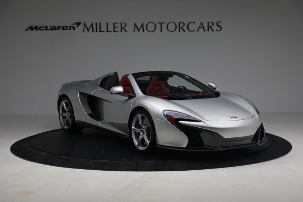 Used 2015 McLaren 650S Spider for sale $179,990 at Pagani of Greenwich in Greenwich CT 06830 10