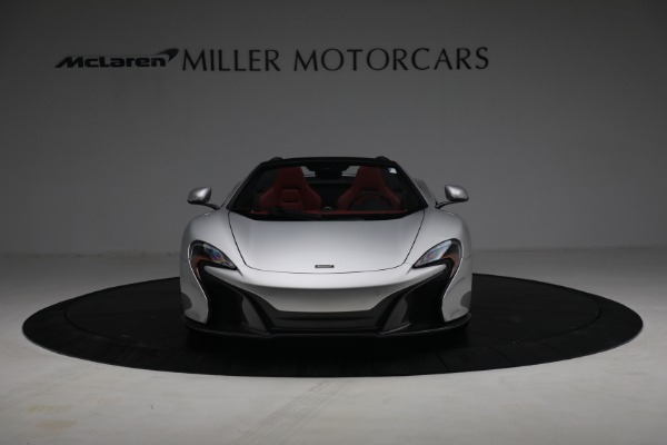 Used 2015 McLaren 650S Spider for sale $179,990 at Pagani of Greenwich in Greenwich CT 06830 11