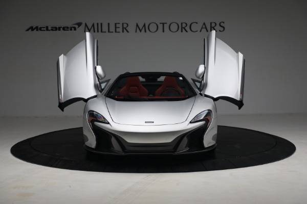 Used 2015 McLaren 650S Spider for sale $179,990 at Pagani of Greenwich in Greenwich CT 06830 12