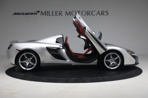 Used 2015 McLaren 650S Spider for sale $179,990 at Pagani of Greenwich in Greenwich CT 06830 18