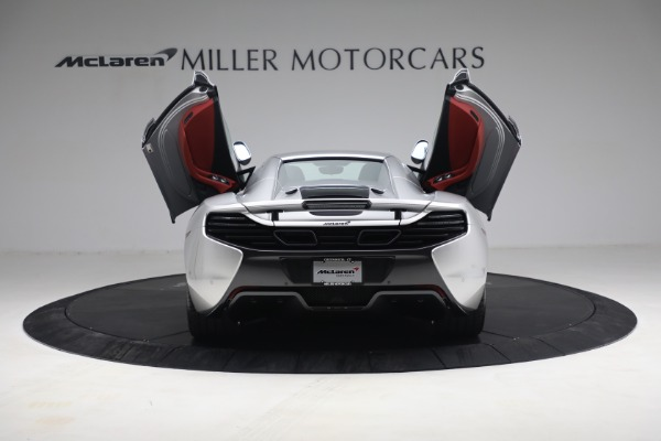 Used 2015 McLaren 650S Spider for sale $179,990 at Pagani of Greenwich in Greenwich CT 06830 24