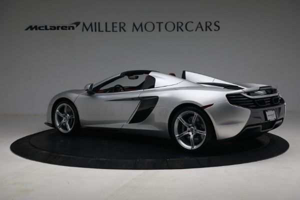 Used 2015 McLaren 650S Spider for sale $179,990 at Pagani of Greenwich in Greenwich CT 06830 3