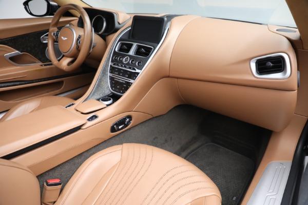 Used 2019 Aston Martin DB11 Volante for sale $212,990 at Pagani of Greenwich in Greenwich CT 06830 24