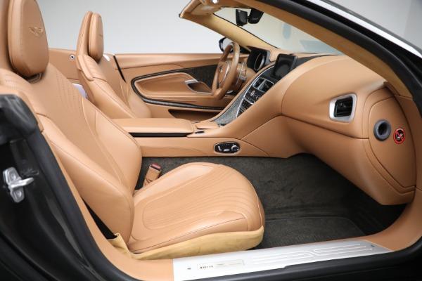 Used 2019 Aston Martin DB11 Volante for sale $212,990 at Pagani of Greenwich in Greenwich CT 06830 25