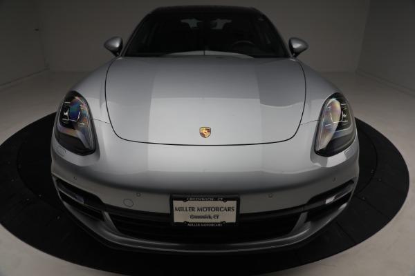 Used 2018 Porsche Panamera 4 Sport Turismo for sale $97,900 at Pagani of Greenwich in Greenwich CT 06830 13