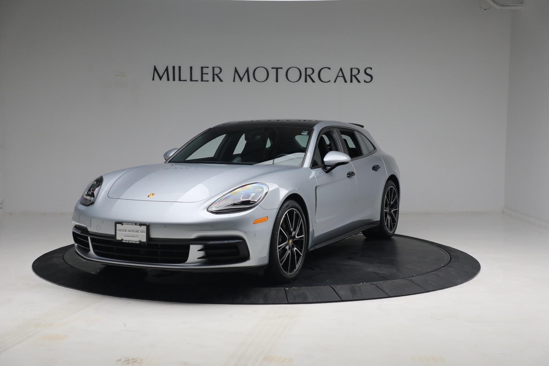 Used 2018 Porsche Panamera 4 Sport Turismo for sale $97,900 at Pagani of Greenwich in Greenwich CT 06830 1