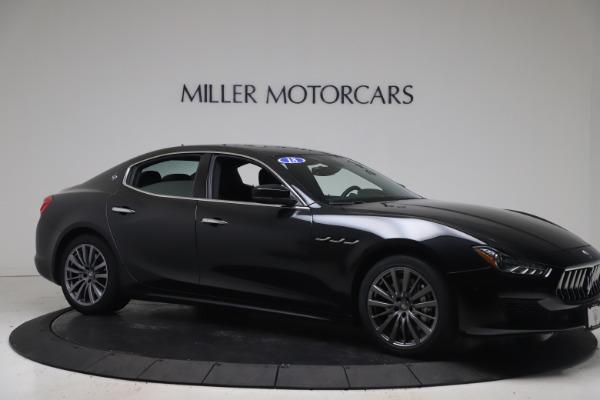 Used 2018 Maserati Ghibli SQ4 for sale $54,900 at Pagani of Greenwich in Greenwich CT 06830 10