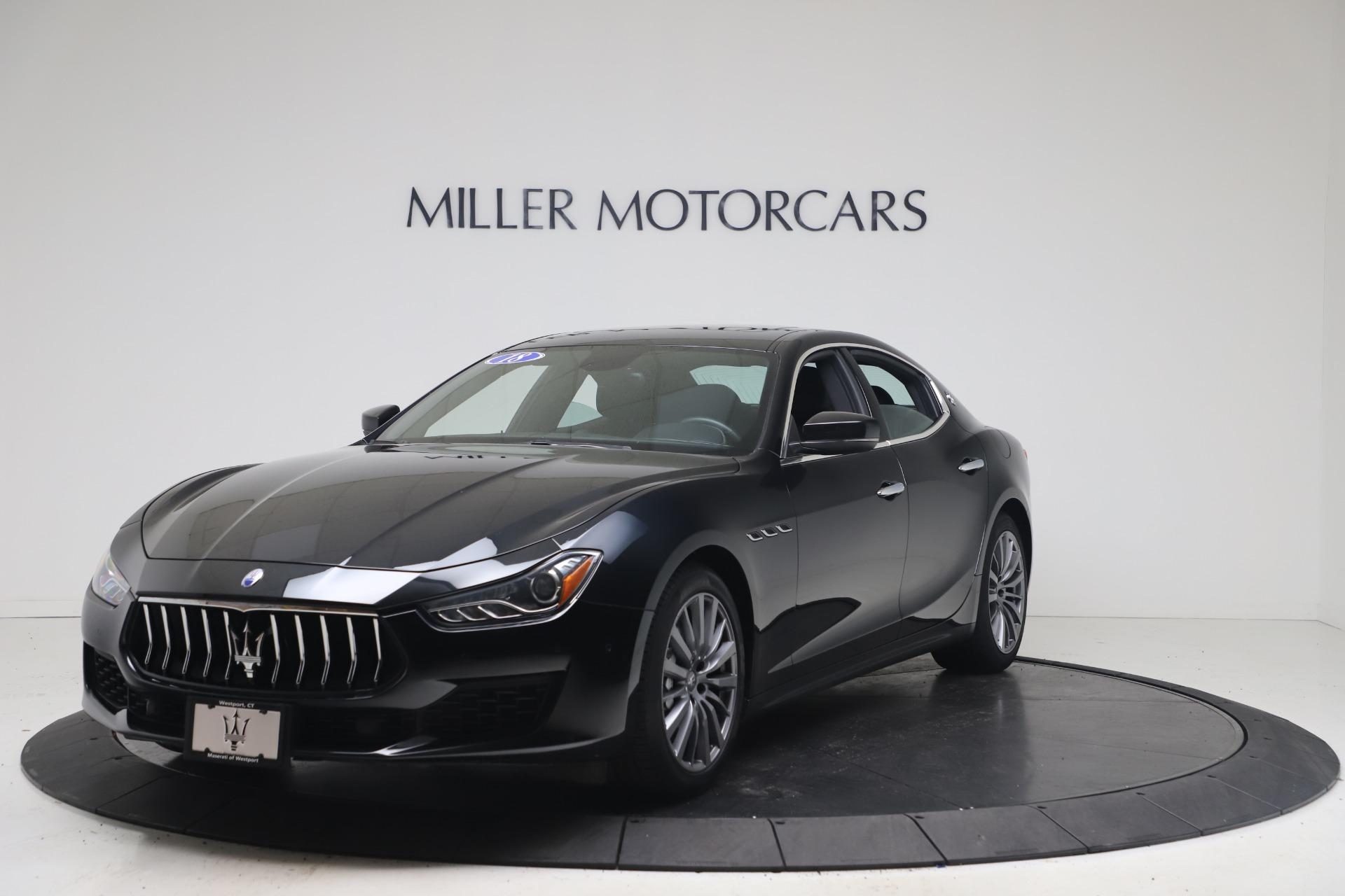 Used 2018 Maserati Ghibli SQ4 for sale $54,900 at Pagani of Greenwich in Greenwich CT 06830 1