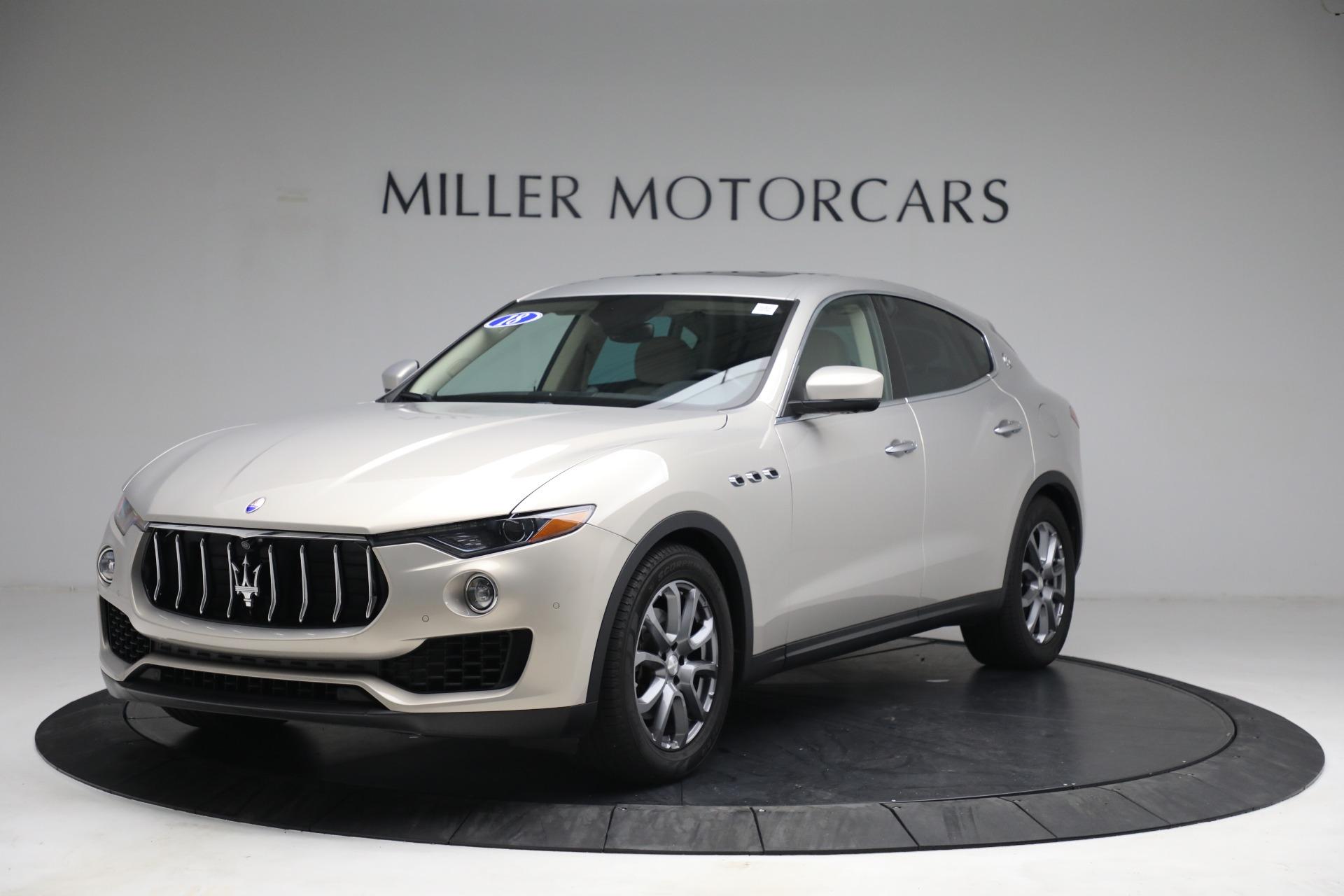 Used 2018 Maserati Levante for sale $57,900 at Pagani of Greenwich in Greenwich CT 06830 1