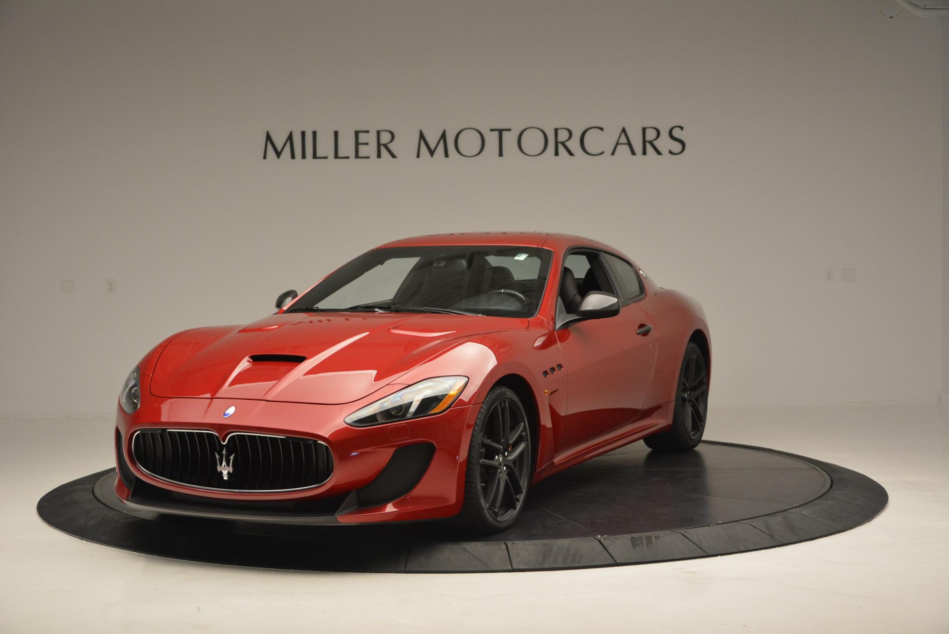Used 2014 Maserati GranTurismo MC for sale Sold at Pagani of Greenwich in Greenwich CT 06830 1