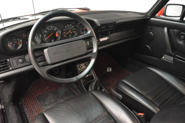 Used 1988 Porsche 911 Carrera for sale Sold at Pagani of Greenwich in Greenwich CT 06830 13
