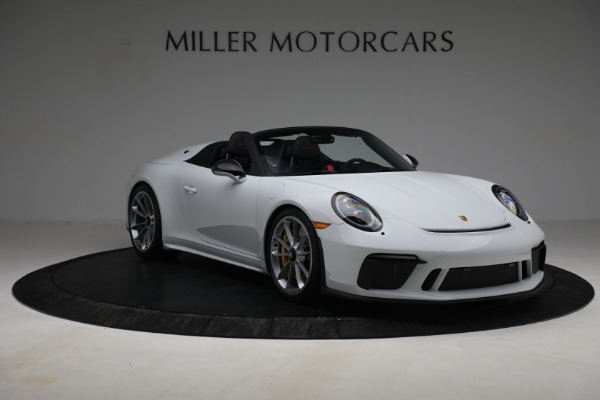 Used 2019 Porsche 911 Speedster for sale $395,900 at Pagani of Greenwich in Greenwich CT 06830 11