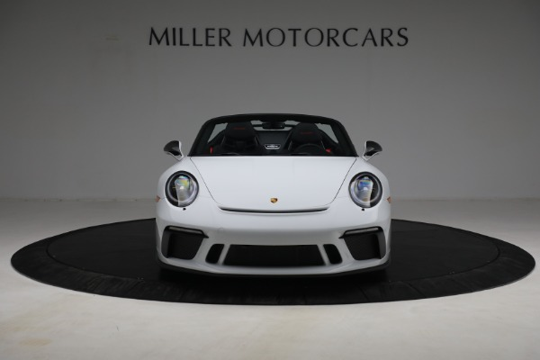 Used 2019 Porsche 911 Speedster for sale $395,900 at Pagani of Greenwich in Greenwich CT 06830 12