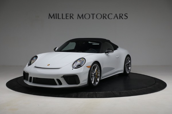 Used 2019 Porsche 911 Speedster for sale $395,900 at Pagani of Greenwich in Greenwich CT 06830 13