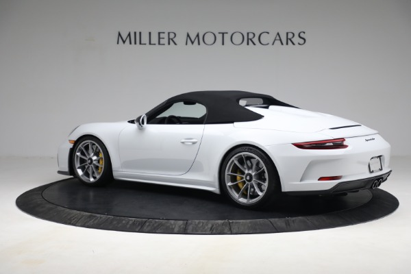 Used 2019 Porsche 911 Speedster for sale $395,900 at Pagani of Greenwich in Greenwich CT 06830 15