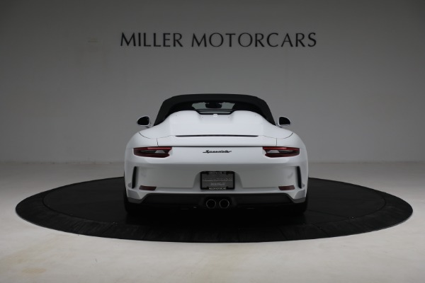Used 2019 Porsche 911 Speedster for sale $395,900 at Pagani of Greenwich in Greenwich CT 06830 16