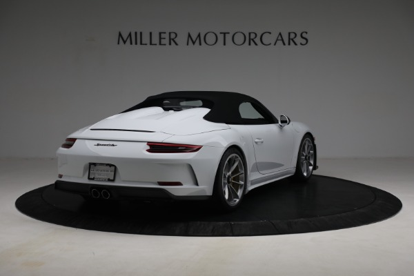 Used 2019 Porsche 911 Speedster for sale $395,900 at Pagani of Greenwich in Greenwich CT 06830 17