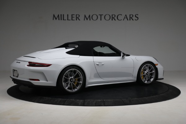 Used 2019 Porsche 911 Speedster for sale $395,900 at Pagani of Greenwich in Greenwich CT 06830 18