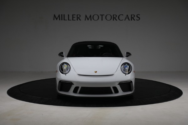 Used 2019 Porsche 911 Speedster for sale $395,900 at Pagani of Greenwich in Greenwich CT 06830 19