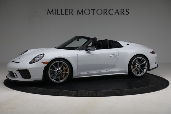 Used 2019 Porsche 911 Speedster for sale $395,900 at Pagani of Greenwich in Greenwich CT 06830 2