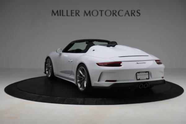 Used 2019 Porsche 911 Speedster for sale $395,900 at Pagani of Greenwich in Greenwich CT 06830 5