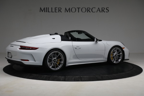 Used 2019 Porsche 911 Speedster for sale $395,900 at Pagani of Greenwich in Greenwich CT 06830 8