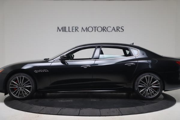 New 2022 Maserati Quattroporte Modena Q4 for sale $128,775 at Pagani of Greenwich in Greenwich CT 06830 3