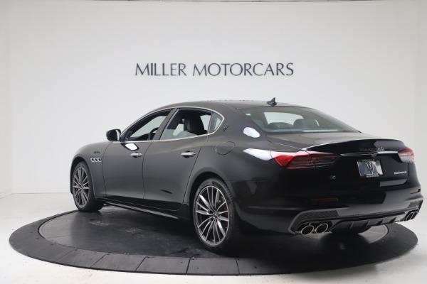 New 2022 Maserati Quattroporte Modena Q4 for sale $128,775 at Pagani of Greenwich in Greenwich CT 06830 5