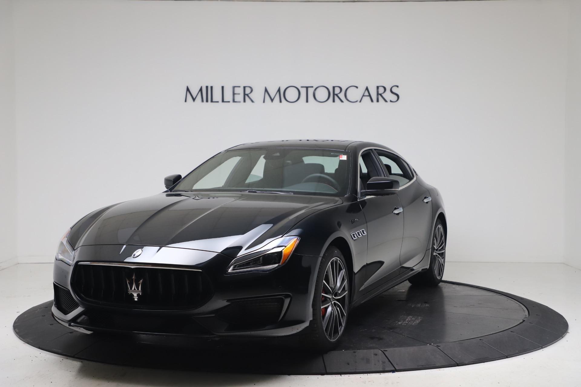 New 2022 Maserati Quattroporte Modena Q4 for sale $128,775 at Pagani of Greenwich in Greenwich CT 06830 1