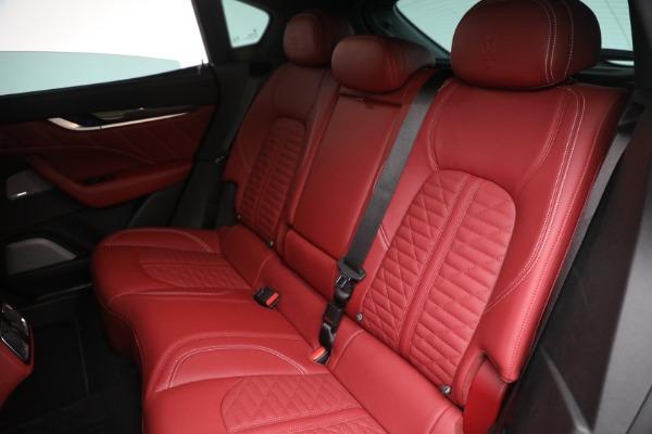 New 2022 Maserati Levante Trofeo for sale $155,045 at Pagani of Greenwich in Greenwich CT 06830 24