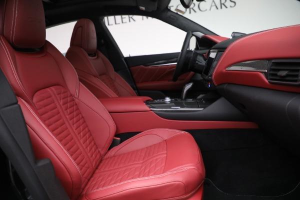 New 2022 Maserati Levante Trofeo for sale $155,045 at Pagani of Greenwich in Greenwich CT 06830 27