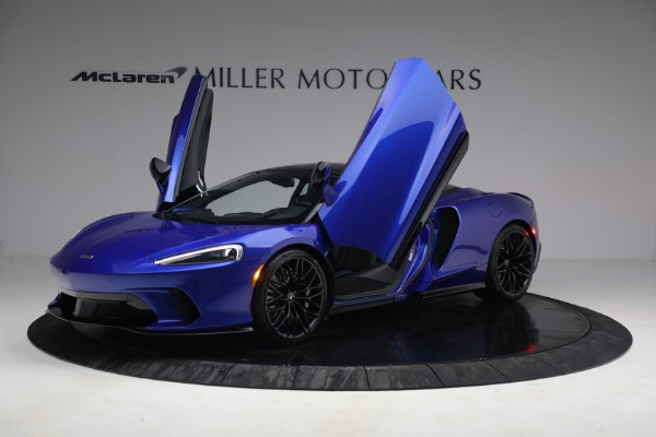 New 2022 McLaren GT Luxe for sale $228,080 at Pagani of Greenwich in Greenwich CT 06830 14