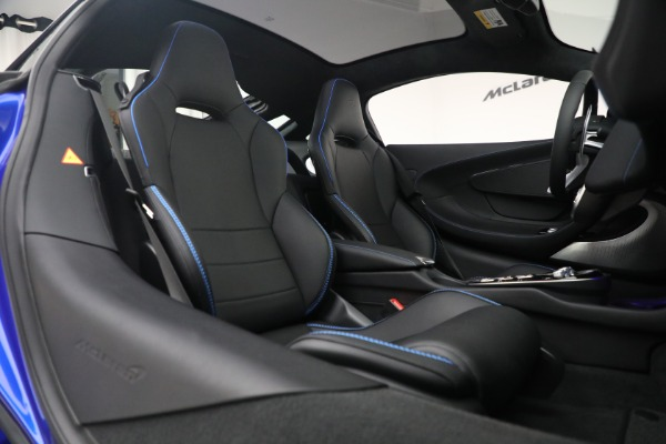New 2022 McLaren GT Luxe for sale $228,080 at Pagani of Greenwich in Greenwich CT 06830 22