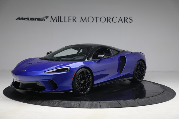 New 2022 McLaren GT Luxe for sale $228,080 at Pagani of Greenwich in Greenwich CT 06830 1