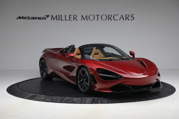 New 2022 McLaren 720S Spider for sale $382,090 at Pagani of Greenwich in Greenwich CT 06830 11