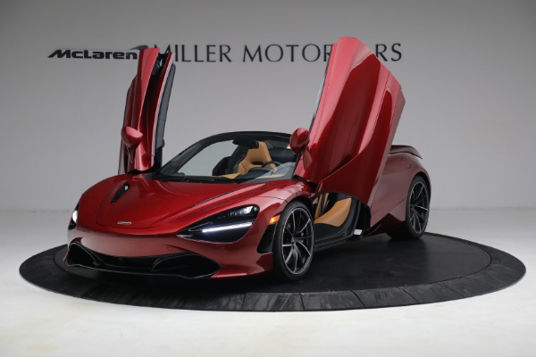 New 2022 McLaren 720S Spider for sale $382,090 at Pagani of Greenwich in Greenwich CT 06830 14