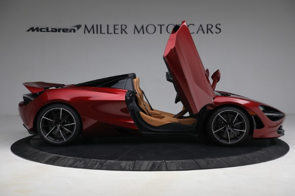 New 2022 McLaren 720S Spider for sale $382,090 at Pagani of Greenwich in Greenwich CT 06830 19