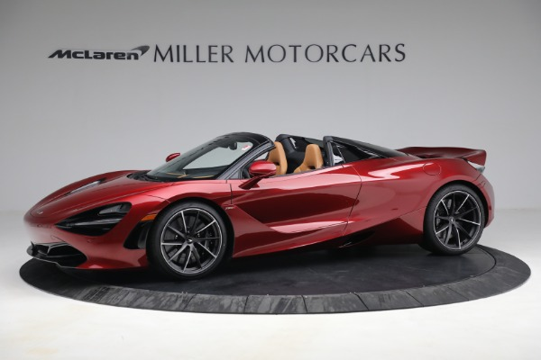 New 2022 McLaren 720S Spider for sale $382,090 at Pagani of Greenwich in Greenwich CT 06830 2