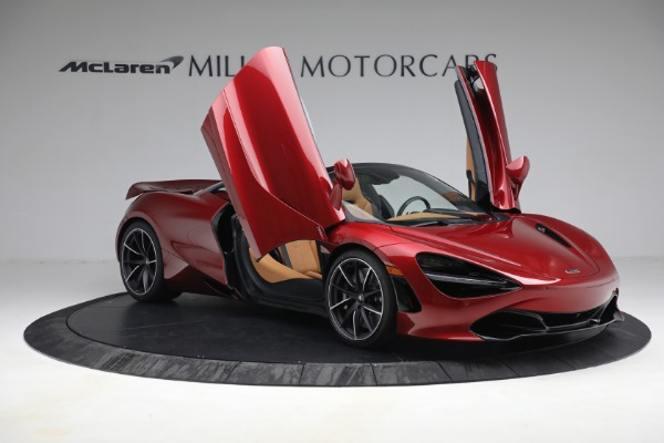 New 2022 McLaren 720S Spider for sale $382,090 at Pagani of Greenwich in Greenwich CT 06830 20
