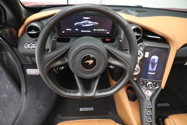 New 2022 McLaren 720S Spider for sale $382,090 at Pagani of Greenwich in Greenwich CT 06830 28