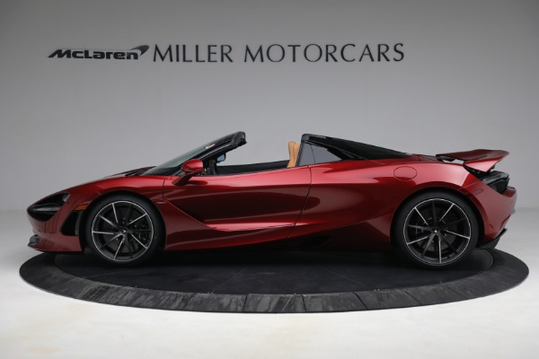 New 2022 McLaren 720S Spider for sale $382,090 at Pagani of Greenwich in Greenwich CT 06830 3