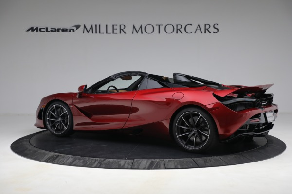 New 2022 McLaren 720S Spider for sale $382,090 at Pagani of Greenwich in Greenwich CT 06830 4