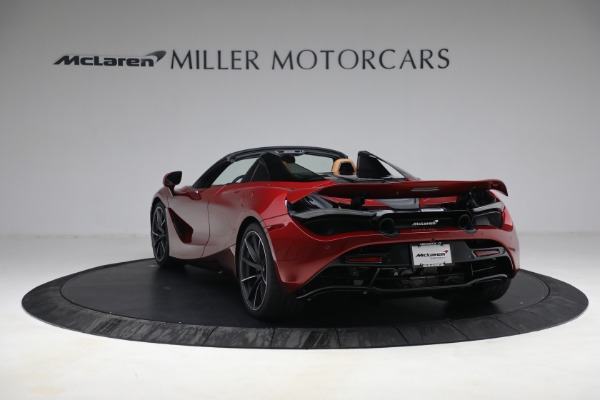 New 2022 McLaren 720S Spider for sale $382,090 at Pagani of Greenwich in Greenwich CT 06830 5